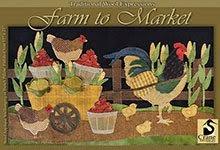 Farm To Market Wool Applique Pattern