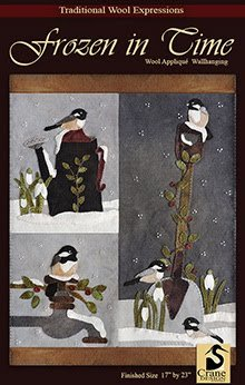 Frozen In Time Wool Applique Pattern