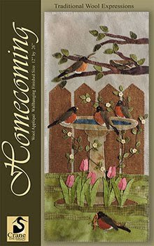 Homecoming Wool Applique Pattern