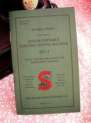 Singer - Manual
