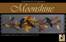 Moonshine Wool Applique Pattern