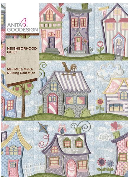 Anita Goodesigns - Neighborhood Quilt