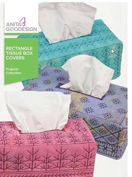 Anita Goodesigns - Rectangle Tissue Box Covers