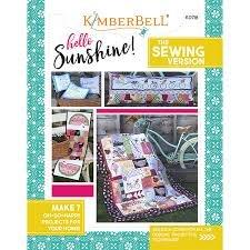 Hello Sunshine Sewing Pattern Book