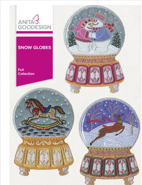Anita Goodesigns - Snow Globes