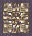 Wildflower Quilt Kit (Includes backing fabric & pattern)