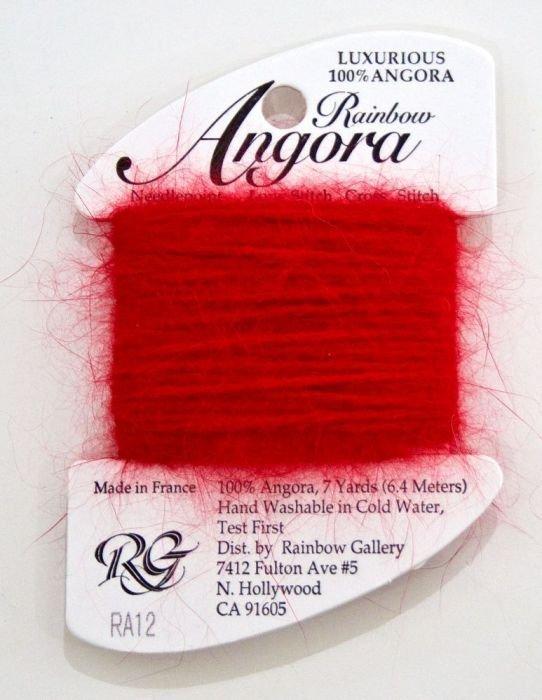 Angora Christmas Red