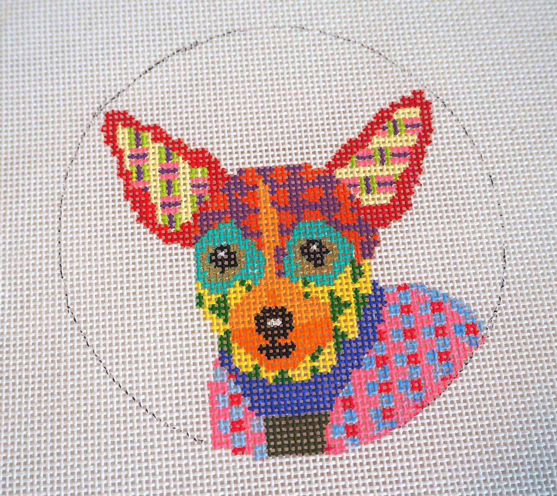 Chihuahua Needlepoint 244K