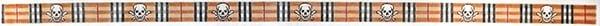Preppy Plaid & Skull Crossbones Belt