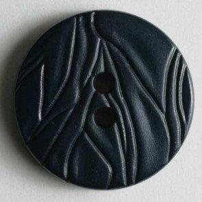 Round Ridges Button, 25mm