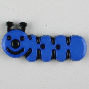 Caterpillar Button, 30mm