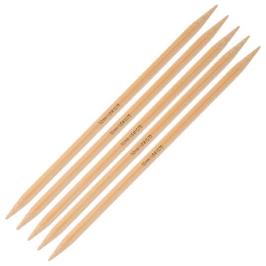 Addi Bamboo Double Point Needles, 6