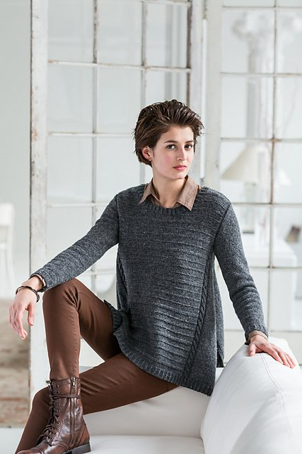 Arabella Pullover by Ann McCauley