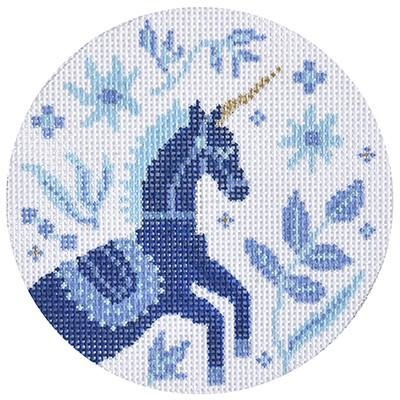 Folk Forest Unicorn Ornament