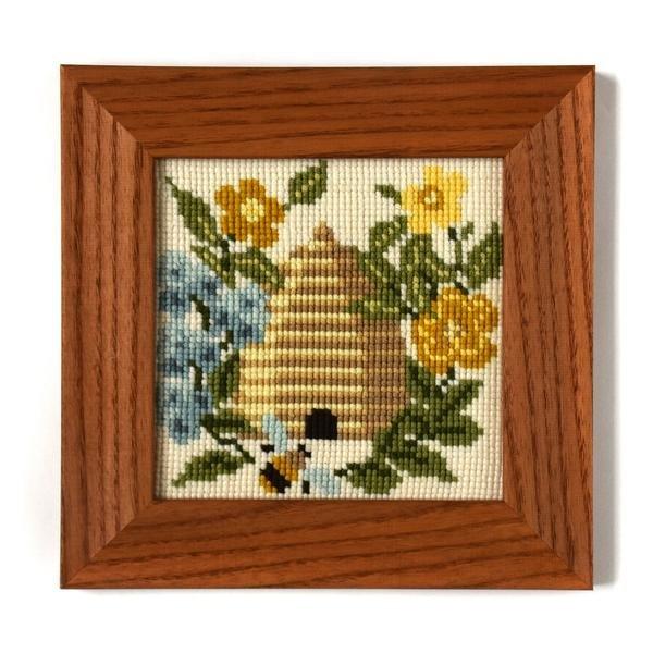 The Beekeeper Mini Needlepoint Kit 6