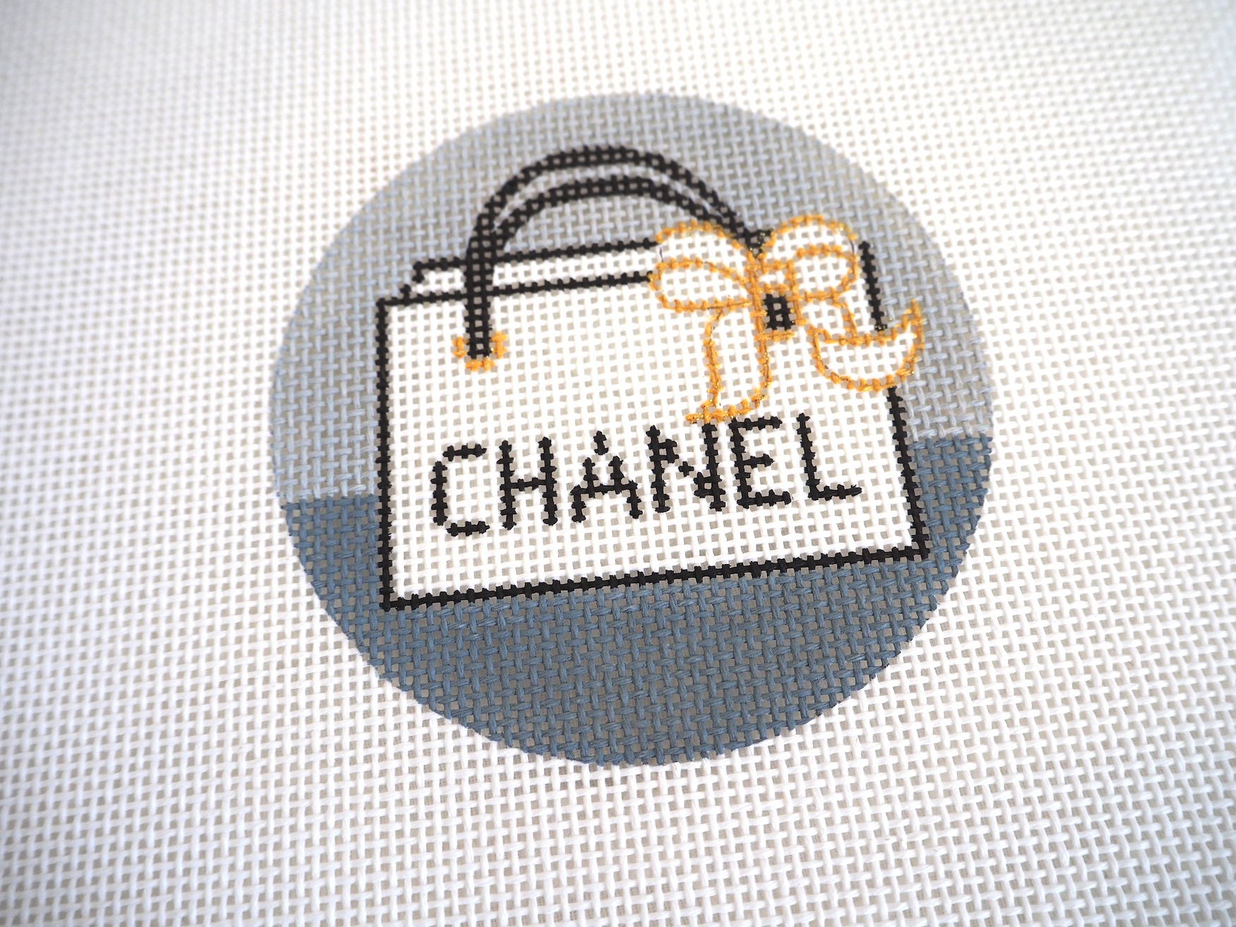Chanel Bag needlepoint