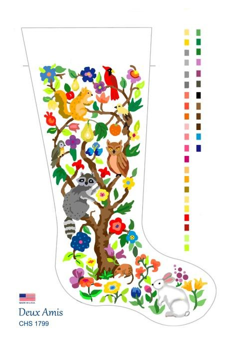 Tree of Life Stocking