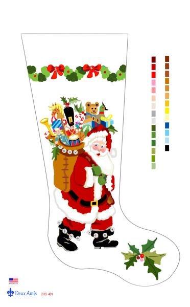 Santa & Bag of Toys