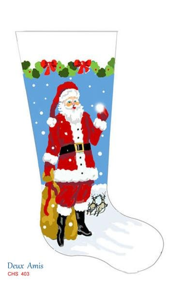 Tall Santa Stocking