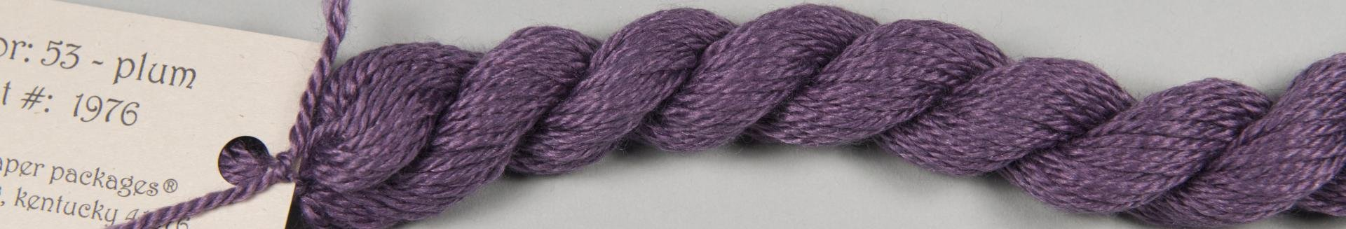 Silk & Ivory 53 PLUM