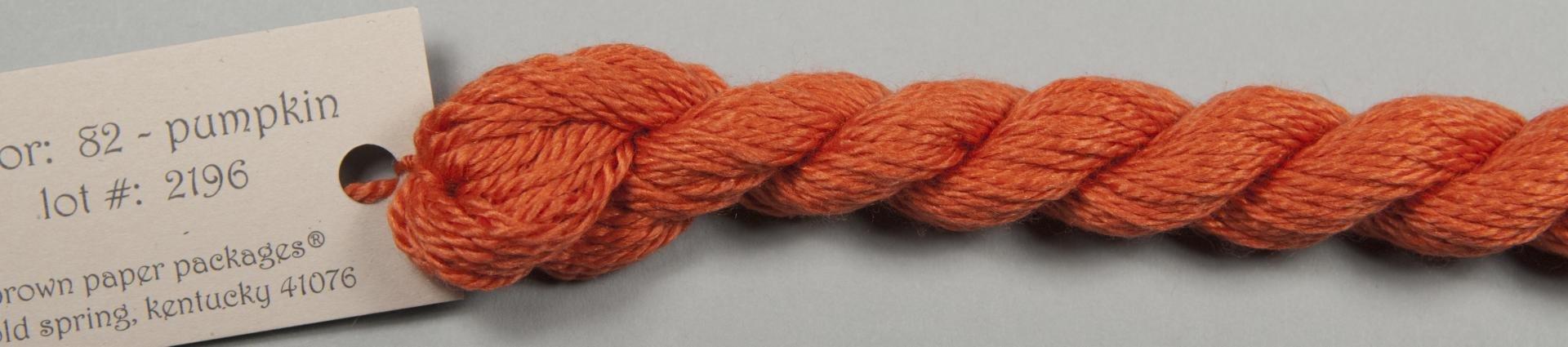 Silk & Ivory 082 Pumpkin