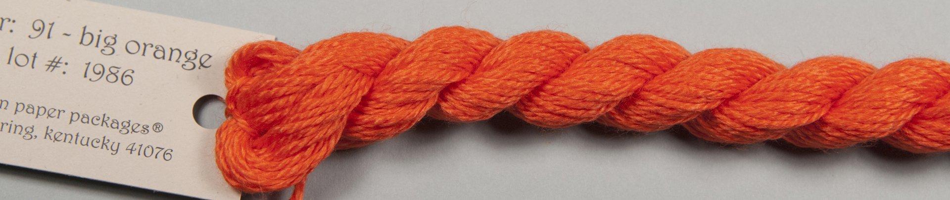 Silk & Ivory 091 Big Orange