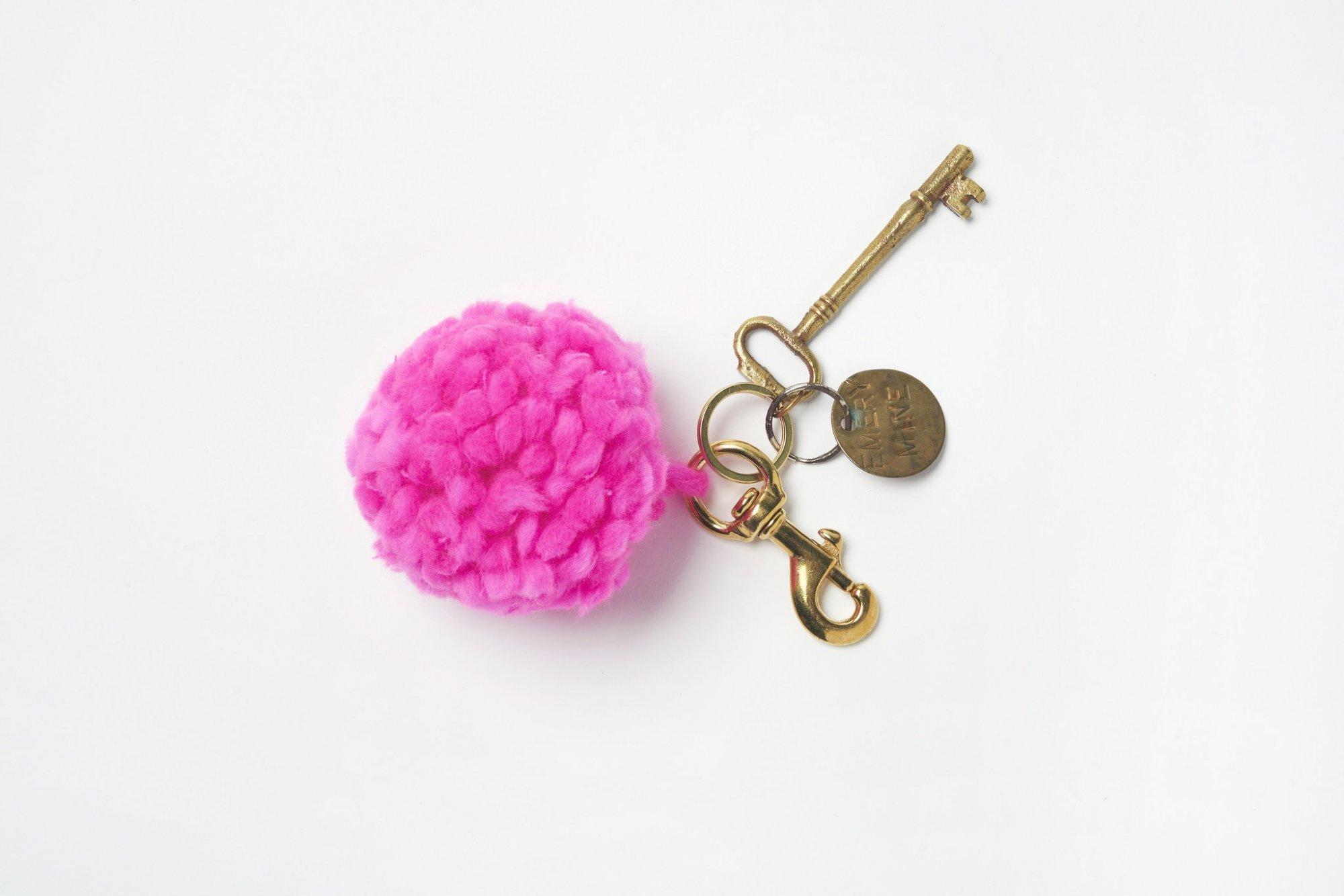 DIY Pom Pom Keychain Kit