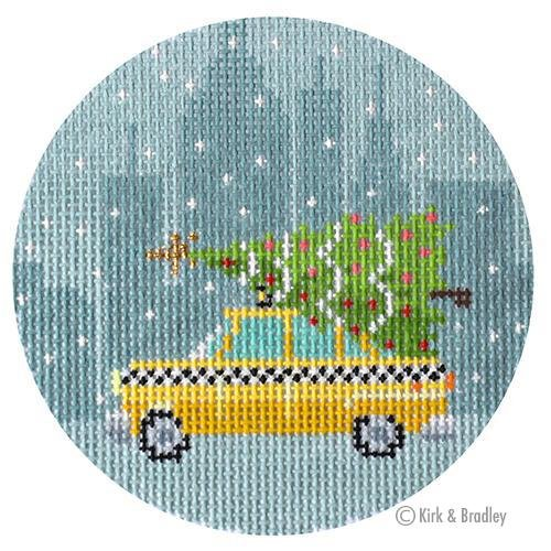 Ornament -  Taxi Cab KB1488