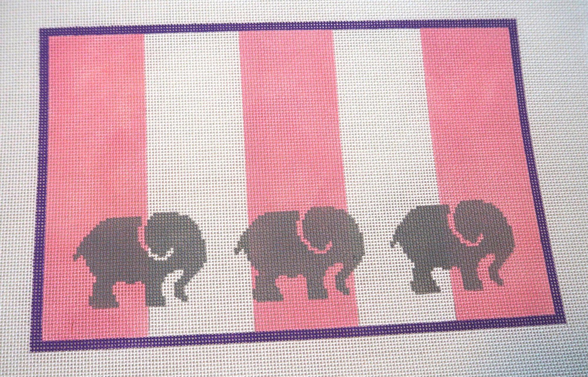 Elephant Sampler in Pink KKSG14