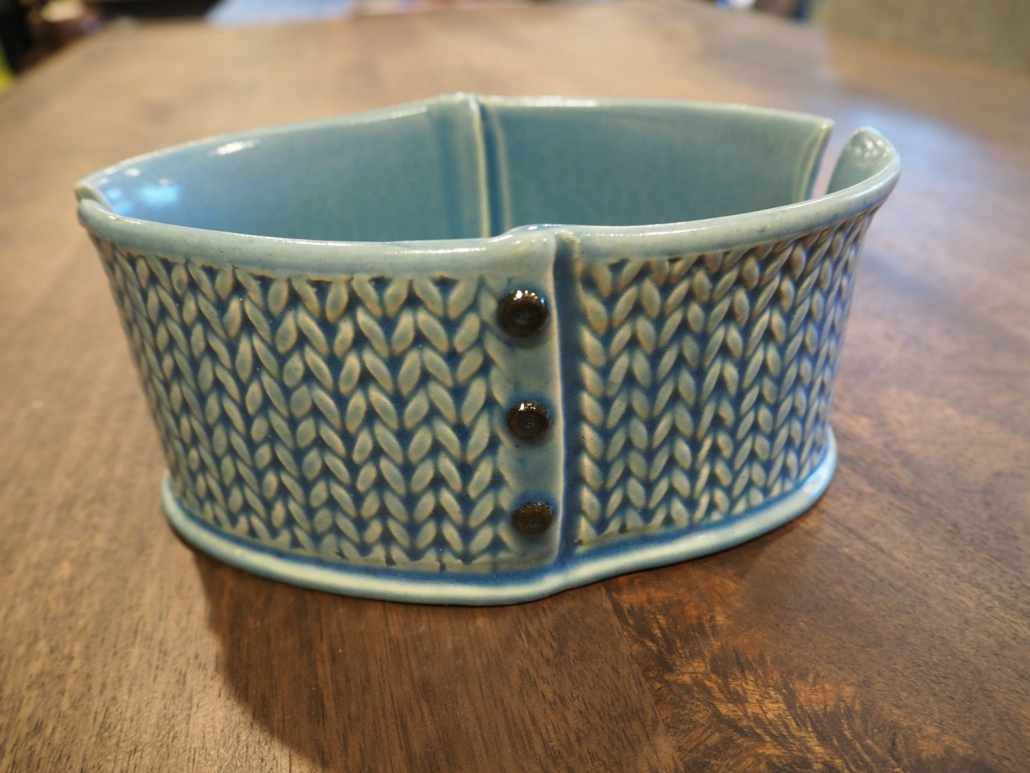 Knitted Yarn Bowl