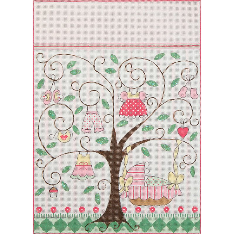 Baby Girl Lullaby Tree 3597