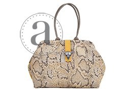 Atenti Molly Bag in Serpent