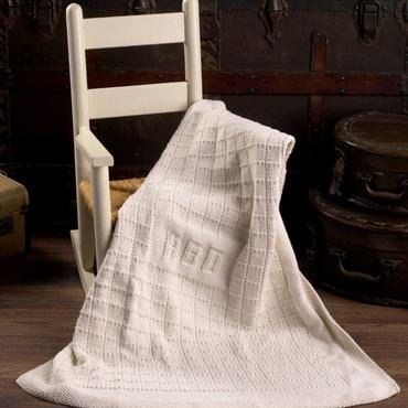 Monogram Baby Blanket Kit