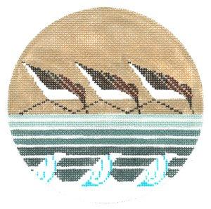 Sanderlings Ornament