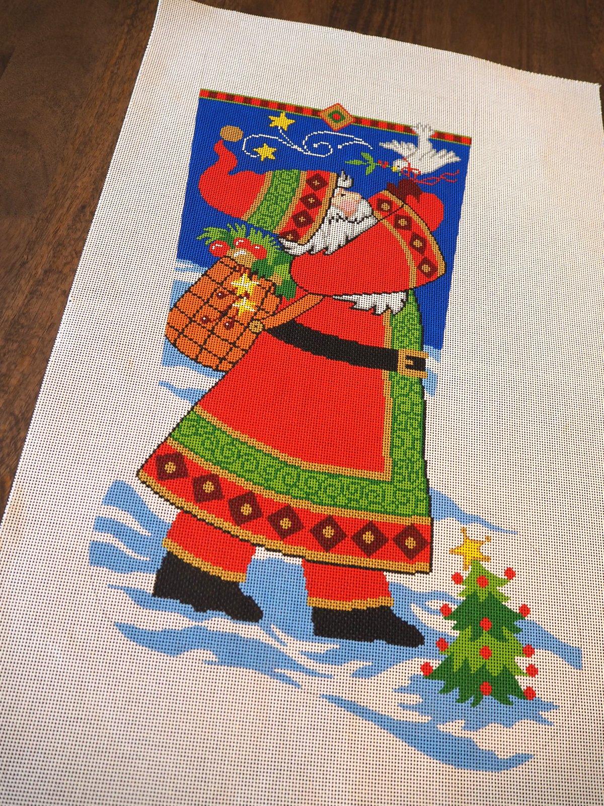 Santa with Dove 7108