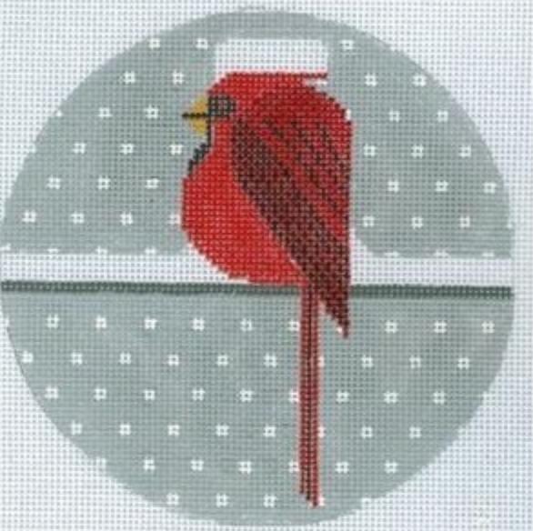 Cool Cardinal Ornament