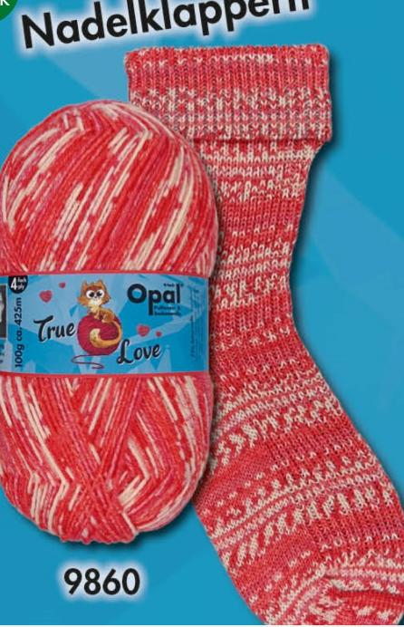 Opal Sock-True Love