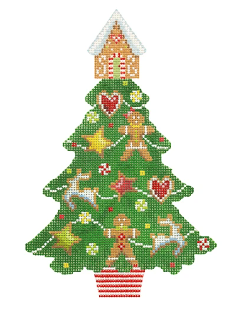 Gingerbread Tree KB1615