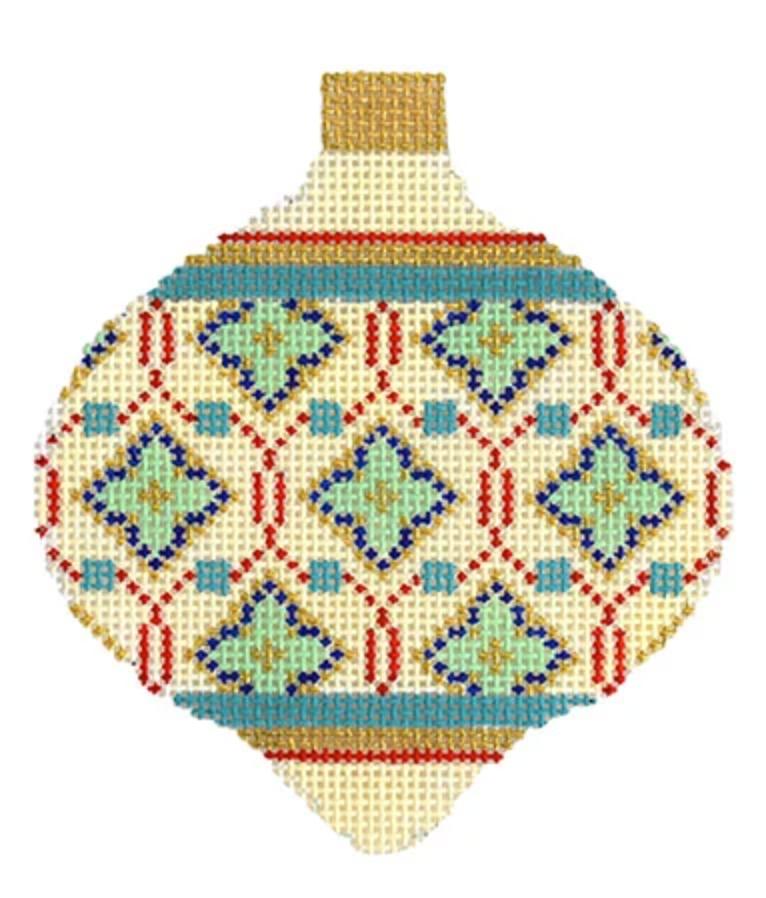 Florentine Bauble Cream Moroccan Tile KB1592