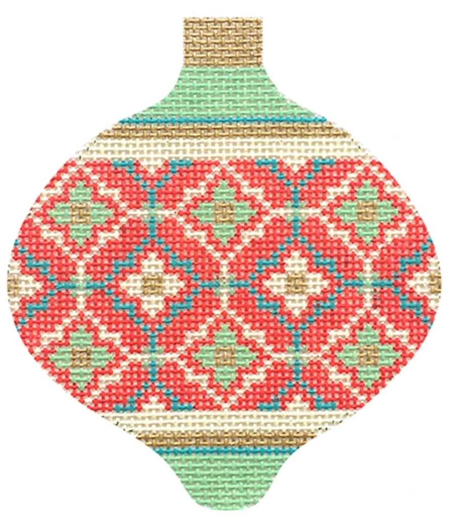 Florentine Bauble Red Moroccan Tile KB1591