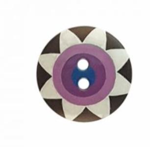 Kaffe Fassett Star Flower  Button