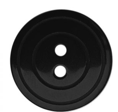 Round Pearl Effect Button