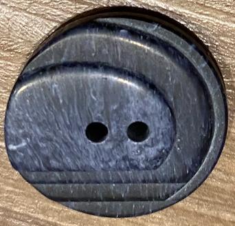 Navy Textured Button 23mm