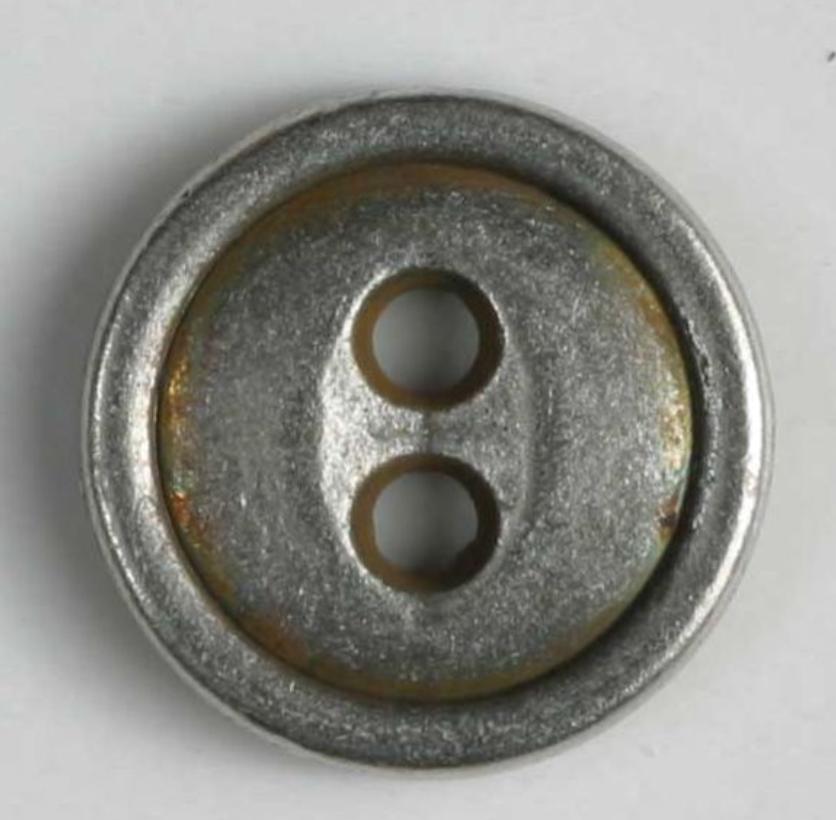 Full Metal Antique Button