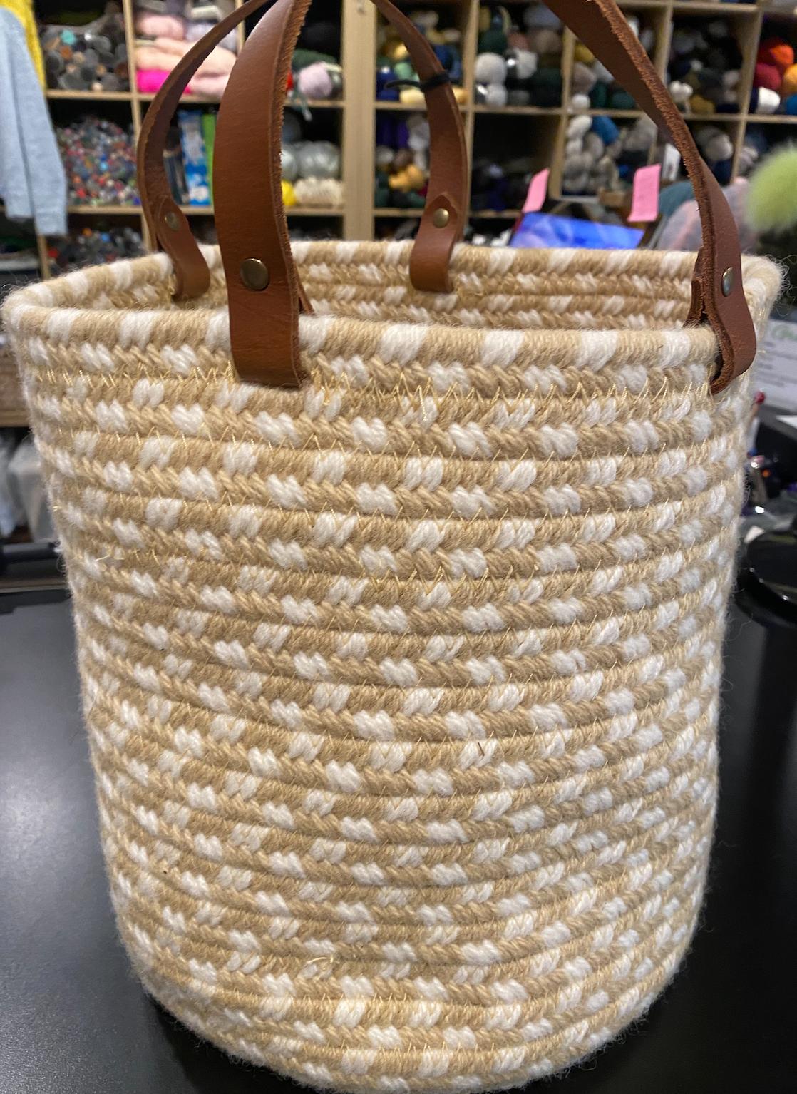 Aalta Wool Basket Pastel Tweed Collection