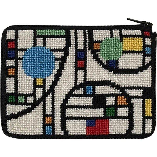 Stitch & Zip Coin/Credit Card Case