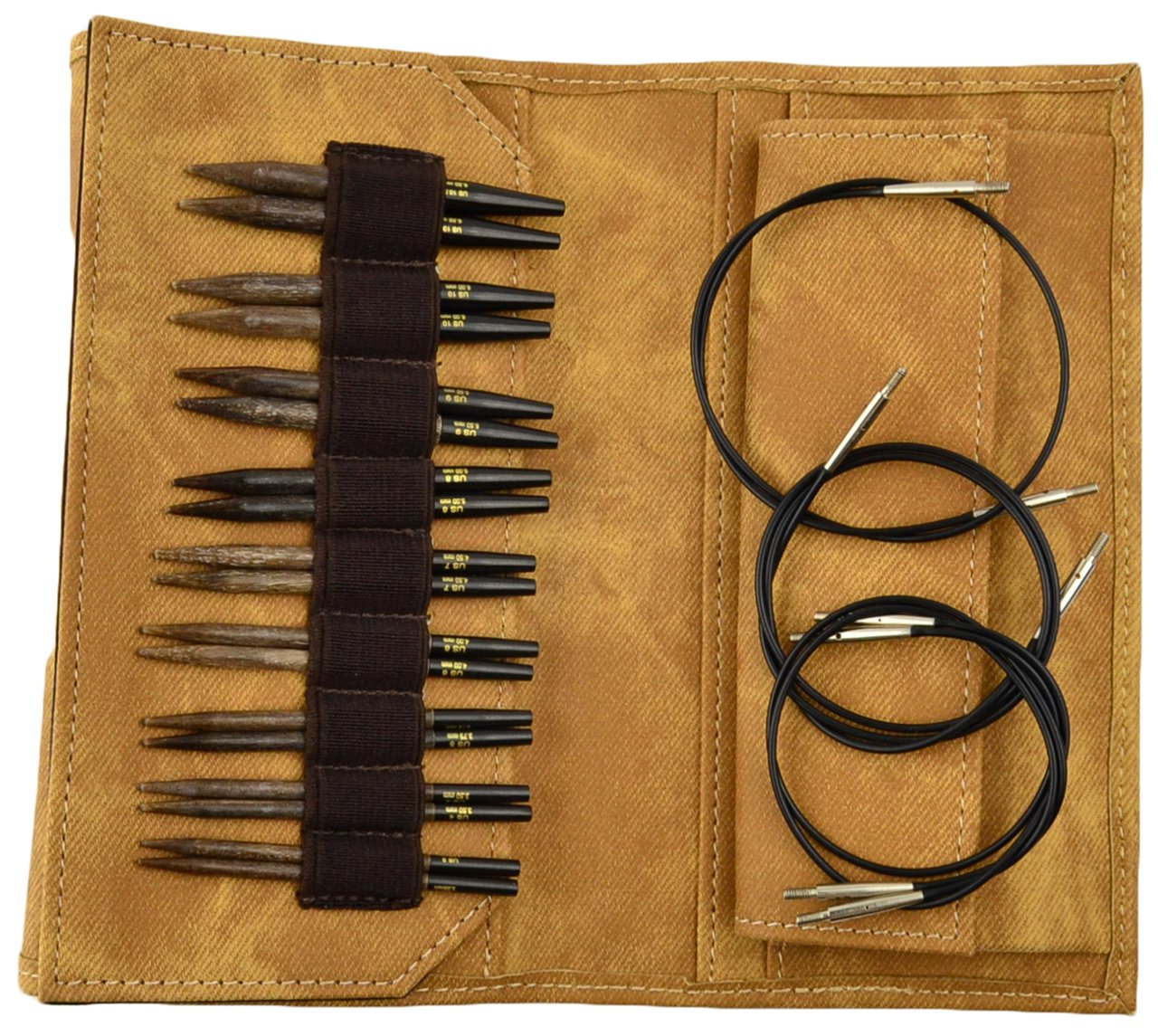 Lykke Short Tip Interchangeable Needle Set - Umber