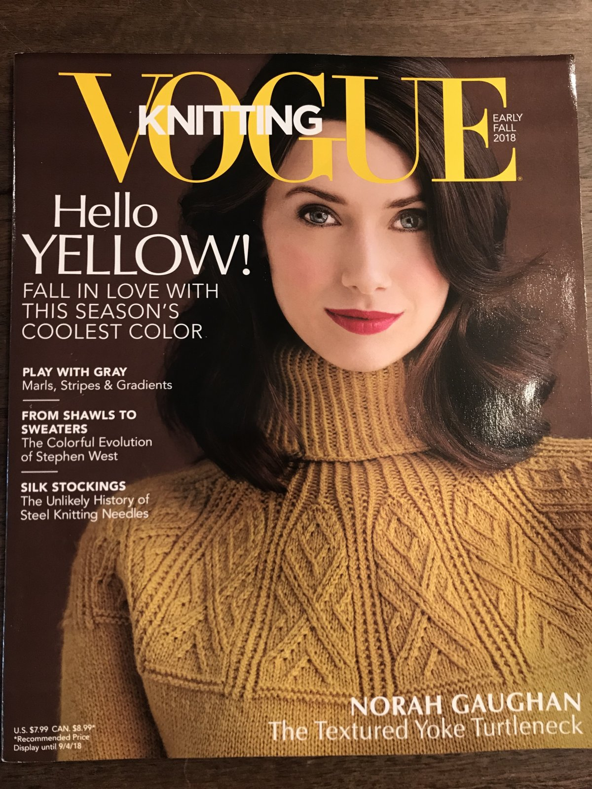 Vogue Knitting Early Fall 2018