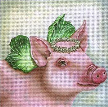 Angel Petunia the Pig