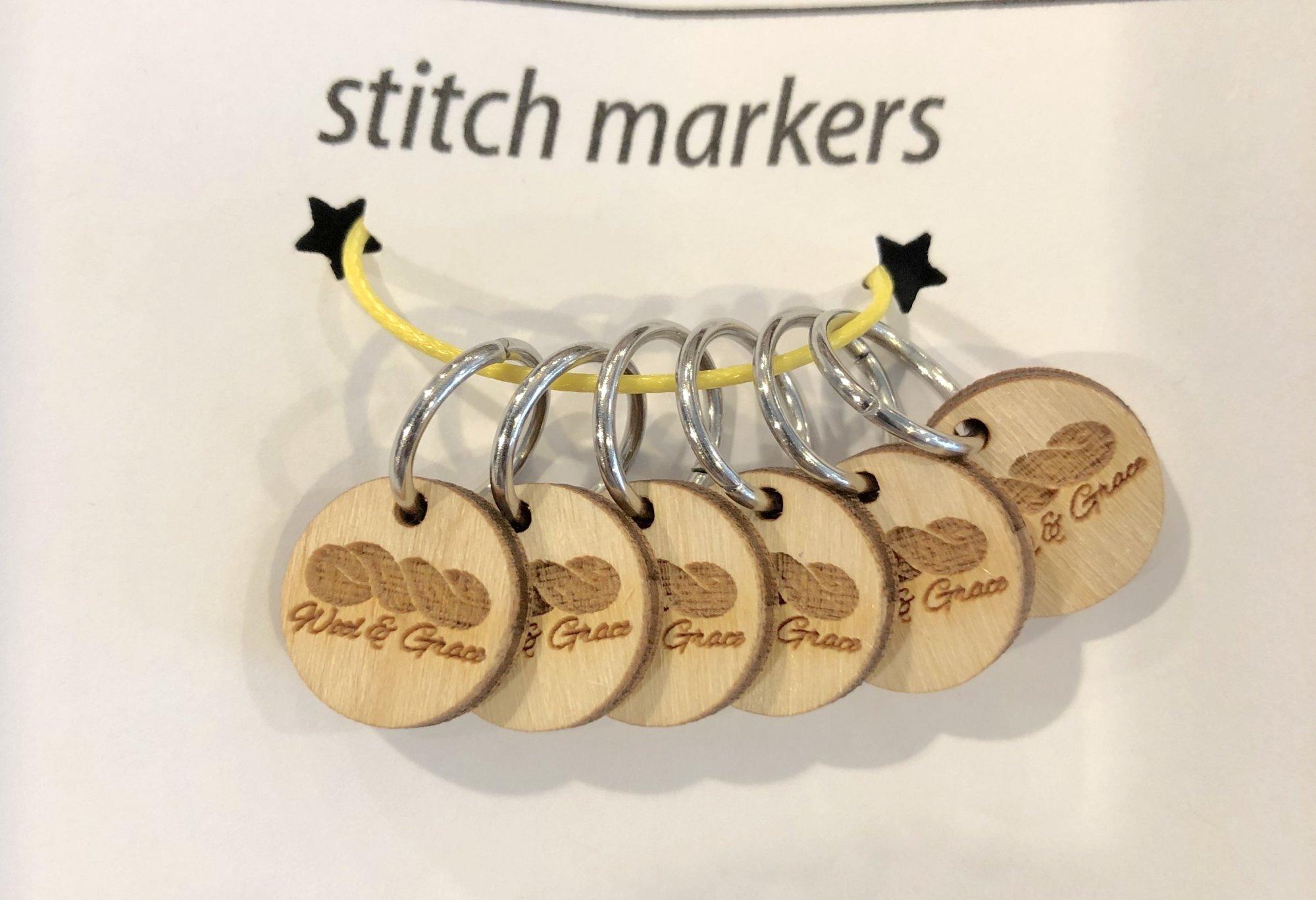 W&G Ring Stitch Marker Set